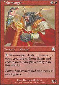 Warmonger - Mercadian Masques