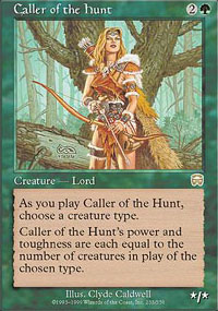 Caller of the Hunt - Mercadian Masques