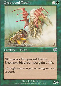 Deepwood Tantiv - Mercadian Masques