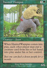 Hunted Wumpus - Mercadian Masques