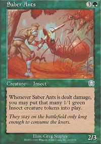 Saber Ants - Mercadian Masques
