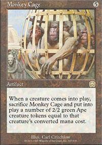 Monkey Cage - Mercadian Masques