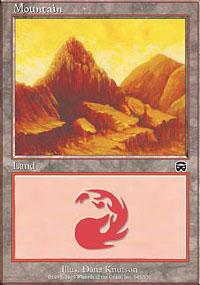 Mountain 3 - Mercadian Masques