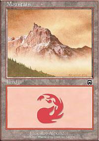 Mountain 4 - Mercadian Masques