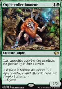Orphe collectionneur -