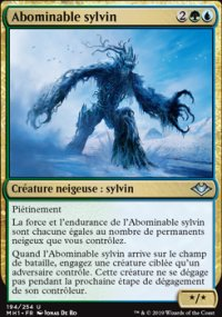 Abominable sylvin -