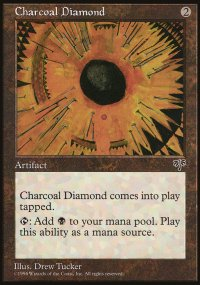 Charcoal Diamond - Mirage