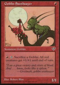 Goblin Soothsayer - Mirage