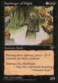 Harbinger of Night - Mirage