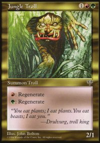 Jungle Troll - Mirage