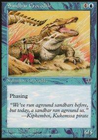 Sandbar Crocodile - Mirage