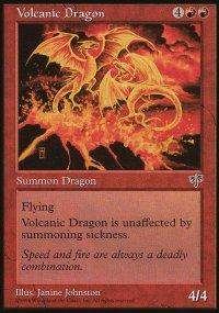 Volcanic Dragon - Mirage