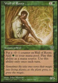 Wall of Roots - Mirage