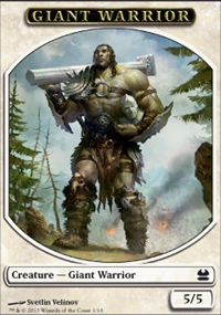 Giant Warrior - Modern Masters
