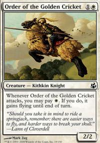 Order of the Golden Cricket - Morningtide