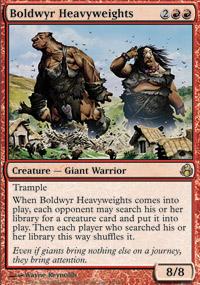 Boldwyr Heavyweights - Morningtide