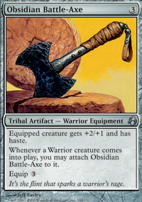 Obsidian Battle-Axe - Morningtide