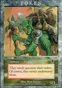 Goblin Soldier - Player Rewards Tokens