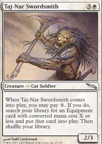Taj-Nar Swordsmith - Mirrodin