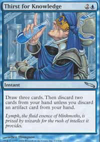 Thirst for Knowledge - Mirrodin