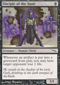 Disciple of the Vault - Mirrodin