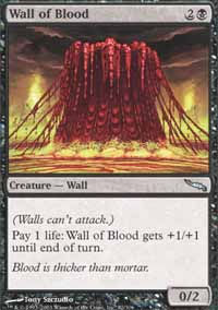 Wall of Blood - Mirrodin