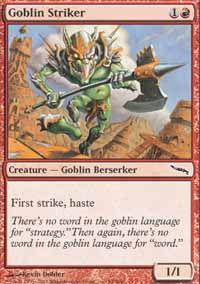 Goblin Striker - Mirrodin
