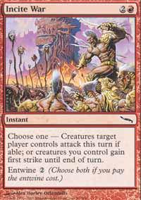 Incite War - Mirrodin