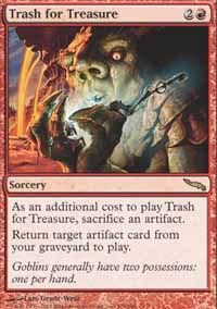 Trash for Treasure - Mirrodin