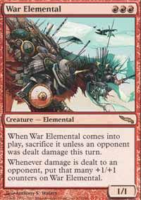 War Elemental - Mirrodin