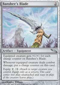 Banshee's Blade - Mirrodin