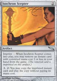 Sceptre isochronique -