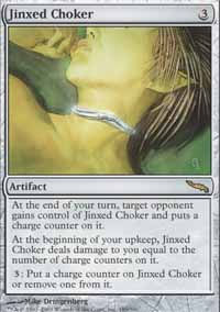 Jinxed Choker - Mirrodin