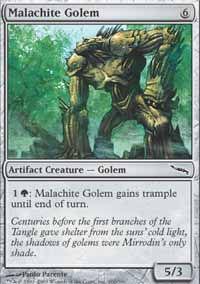 Malachite Golem - Mirrodin