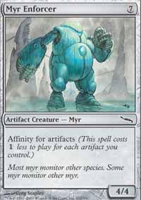 Myr Enforcer - Mirrodin