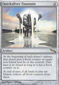 Quicksilver Fountain - Mirrodin