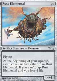 Rust Elemental - Mirrodin