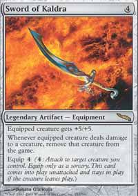 Sword of Kaldra - Mirrodin
