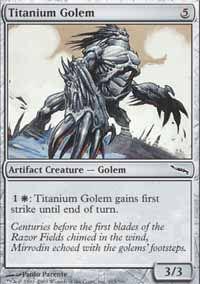 Titanium Golem - Mirrodin