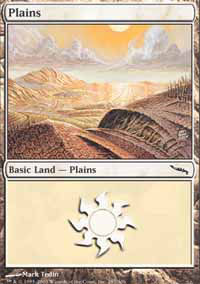 Plains 1 - Mirrodin
