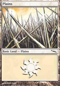 Plains 4 - Mirrodin