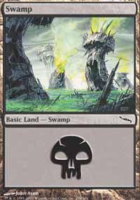 Swamp 4 - Mirrodin