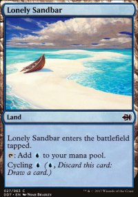 Lonely Sandbar - Merfolks vs. Goblins