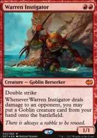 Warren Instigator - Merfolks vs. Goblins