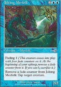 Jolting Merfolk - Nemesis