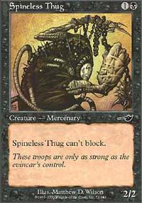 Spineless Thug - Nemesis