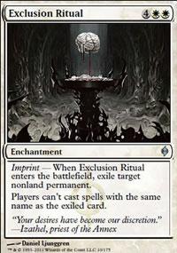 Exclusion Ritual - New Phyrexia