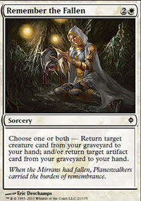 Remember the Fallen - New Phyrexia