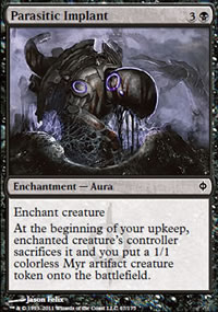 Parasitic Implant - New Phyrexia