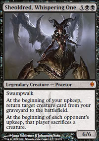 Sheoldred, Whispering One - New Phyrexia